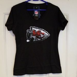 Girls Kansas City Vneck short sleeve T-shirt